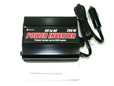 NEW SUPEREX DC TO AC 200 WATT DUAL OUTLET POWER INVERTER 59-102U- 25 AVAILABLE