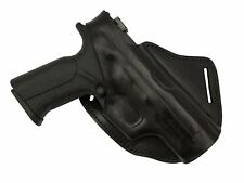 Smith & Wesson MP9 Cross draw Leather holster FALCO Holster Model 131