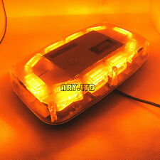 30W 30 LED Emergency Beacon Light Bar Strobe Flashing Warning Lamp Amber 12V/24V