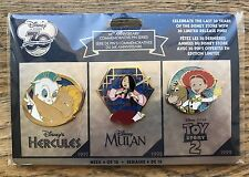 Disney Store 30th Anniversary Pin Set Week 4 - New & Sealed
