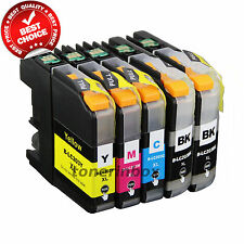 5pk LC-203 LC203 XL Ink Combo For Brother MFC-J460dw MFC-J480dw MFC-J485dw LC201