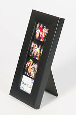 Photo Booth Frames for Photo Booth Strips, 2x6, premium frame with glass black