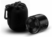 Small Neoprene Soft Camera Pouch Case for Canon Nikon Sony Olympus pentax lens