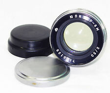 JUPITER 8M 2/50mm Russian Lens for KIEV Contax mount RF #7146139 w/ lens caps