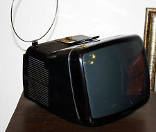 "TV ALGOL 2 BRIONVEGA NERO 12"" DESIGN ANNI 70 ZANUSO SAPPER SPACE AGE cubo radio"