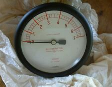 "BUDENBERG Vacuum GAUGE 0-7  in. water  4"" Size"