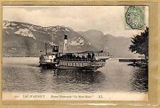 Cpa Lac d'Annecy - Bateau Promenade le Mont Blanc tp0108