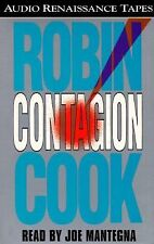CONTAGION By Robin Cook  (1996, Cassette, Abridged). (2415)