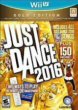 Just Dance 2016: Gold Edition UNUSED CODE (Nintendo Wii U, 2015) - COMPLETE