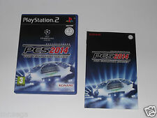PRO EVOLUTION SOCCER 2014 - PES14 for PLAYSTATION 2 'VERY RARE & HARD TO FIND'