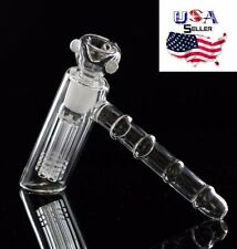 Leaning Glass Hammer Dab Rig Bubbler A Hookah With Bowl
