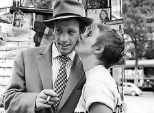 PHOTO JEAN-PAUL BELMONDO ET  JEAN SEBERG - 11X15 CM  # 10