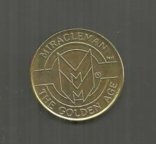 MIRACLEMAN THE GOLDEN AGE COIN - 1990 ECLIPSE COMICS - ONLY 1000 PRODUCED - RARE