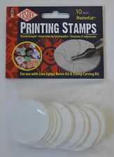 Essdee Printing Stamps - For use with Lino Cutter Kit (10 Discs), New