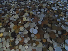 300 plus world british English Coins HUGE LOT .big bulk mixed coins