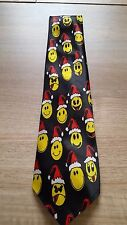 Smiley Faces Christmas Tie *** FREE POSTAGE ***