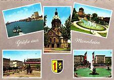 Grüße aus Mannheim , Ansichtskarte , gelaufen