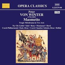 ██ OPER ║ Peter von Winter (*1754) ║ MAOMETTO ║ 2CD