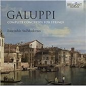 GALUPPI: COMPLETE CONCERTOS FOR STRINGS NEW & SEALED