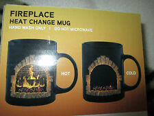 Fireplace Heat change  ceramic mug