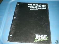 Arctic Cat Parts List Manual 1985 Cougar El Tigre
