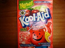 50 CHERRY LIMEADE Kool Aid Drink Mix summer party fun taste combined shipping!