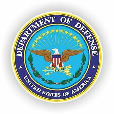 Seal Sticker Of DEPARTMENT OF DEFENSE Bumper decal USA UNITED STATES Car Laptop