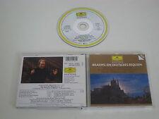 BRAHMS/EIN DEUTSCHES REQUIEM, GIULINI(DEUTSCHE GRAMMOPHON 445 546-2) CD ALBUM