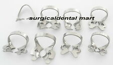 19 Pcs. Endodontic Rubber Dam Clamps Dental Orthodontic Instrument Free Ship