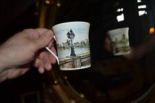 QUEENS FINE BONE CHINA SCENESOFOLDLONDON HOUSES OF PARLIAMENT WESTMINSTER BRIDGE