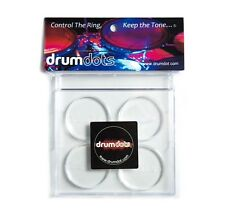 "drumdots 4pk, Drum Damper,  Clear Drum Gel ""Control the Ring - Keep the Tone"""