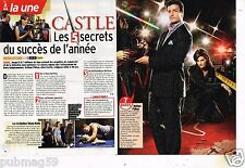 Coupure de presse 2010 (3 pages) Castle Nathan Fillion
