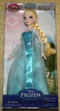 "FROZEN QUEEN ELSA 12"" DOLL Disney Classic Doll Collection Mattel #ast 1508 New"