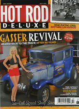 HOT ROD DELUXE MAGAZINE JULY 2015 1955 CHEVY WILLYS GASSER VTG DRAG RACING NHRA