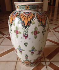"""Antique IVORA GOUDA Holland Huge  Large 20"""" Floor Vase 202/3"""