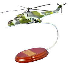 Russian Air Force Mil Mi-24 Helicopter Desk To Display 1/57 MC Military Model