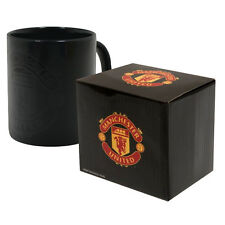 MANCHESTER UNITED FC NEW HEAT CHANGING CERAMIC TEA COFFEE MUG CUP XMAS GIFT