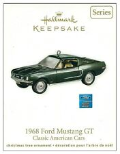 2011 Hallmark Classic American Cars 1968 Ford Mustang GT Ornament!