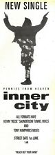 30/5/92Pgn47 INNER CITY : PENNIES FROM HEAVEN SINGLE ADVERT 15X5""