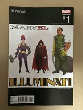ILLUMINATI # 1 HIP HOP VARIANT COVER MARVEL COMICS (2015) FIRST PRINT TITANIA