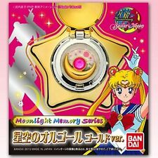 BANDAI Sailor Moon Star Locket Music Box Gold ver. Moonlight Memory series NEW