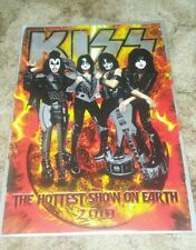 Kiss Hottest Show on Earth rare US version 2010 tour book and bag Sonic Boom