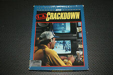 "L.A. Crackdown Vintage PC game 1988 by EPYX Complete in 3.5"" Disk"