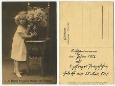 28017 - Prinzessin Monika von Sachsen - Ansichtskarte, datiert 28.3.1908