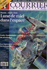 Courrier international 130 29/04/1993 Espace Inmarsat