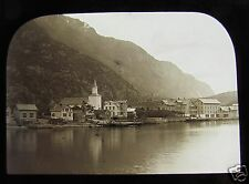 Glass Magic lantern Slide ODDE FROM FJORD C1900 . NORWAY L65