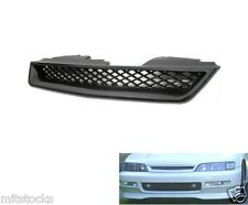 94 95 96 97 HONDA ACCORD TYPE-R ABS BLACK FRONT HOOD MESH GRILL GRILLE 1994-1997