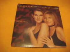 cardsleeve single CD BARBARA STREISAND CELINE DION Tell Him 2TR 1997 duet