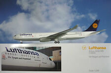 Limox wings 1:200 Airbus a330-300 Lufthansa aikh lh59 + HERPA wings catalogue