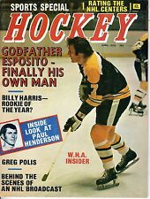 1973 (Apr.) Sports Special Hockey Magazine, Phil Esposito, Boston Bruins ~ VG